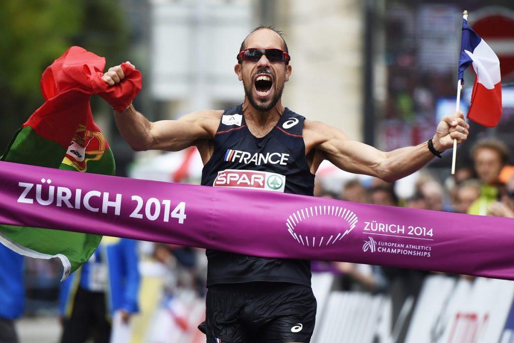Yohan Diniz, vainqueur aux deux drapeaux